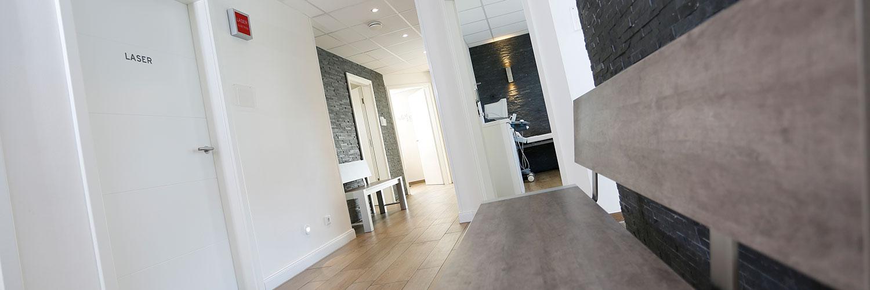 Hausarzt Selsingen - Venjakob - Flurbereich der Praxis